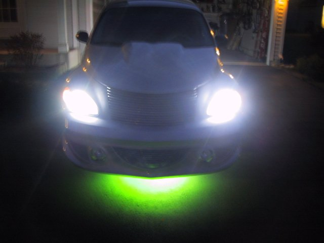 Strobes and Underbody Neon