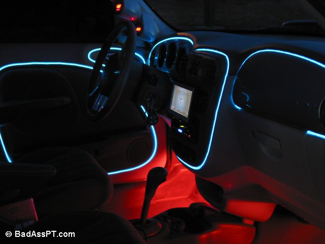 Dash Covered in Neon