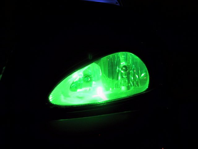 Green Headlight