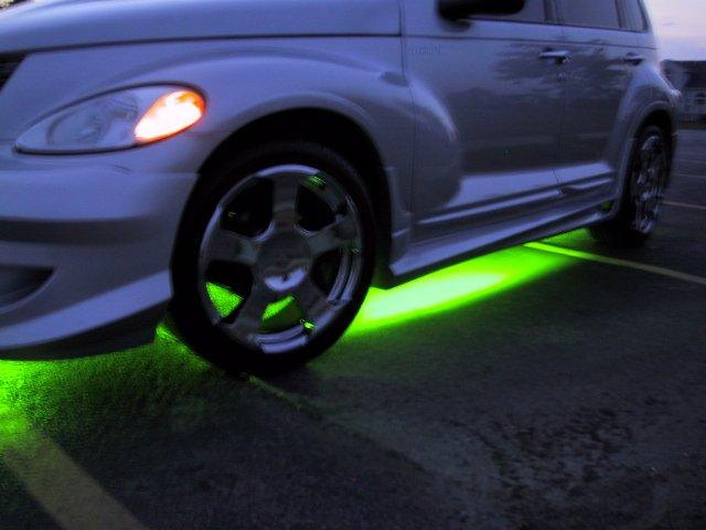 Green Neon Side