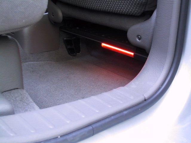 Under back seat