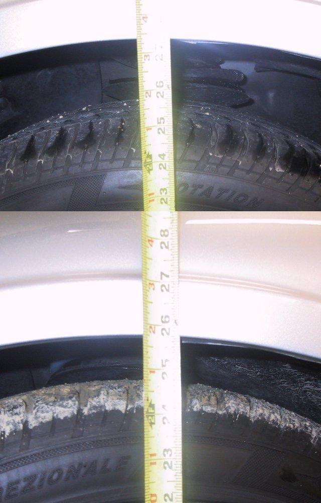 Front Tire Comparison