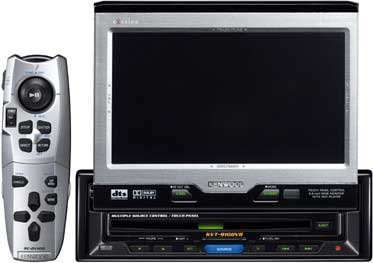 Kenwood in-dash DVD